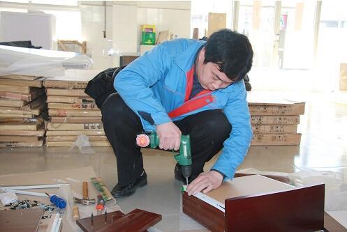 上海拆装家具